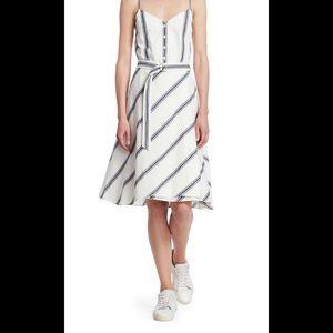 Rag and Bone Doris Stripe button down dress
